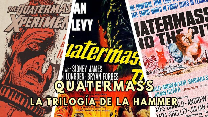 Quatermass La trilogía de la Hammer. Portada las Crónicas de Deckard