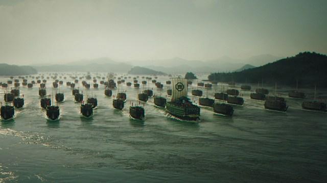 The Admiral Roaring Currents, la armada japonesa.