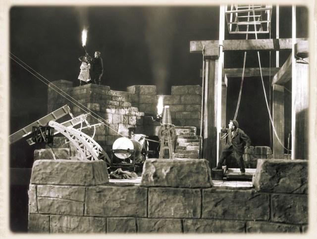 Escenografía y decorados de La Novia de Frankenstein.