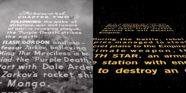 Star Wars and Flash Gordon