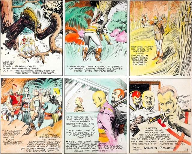 Comic Flash Gordon de Alex Raymond