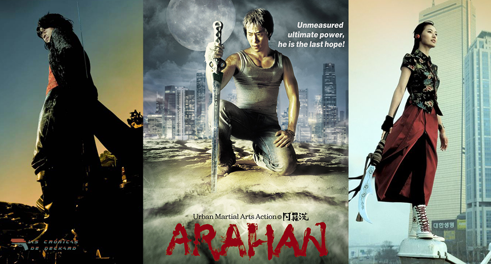 Poster Arahan para Las Crónicas de Deckard