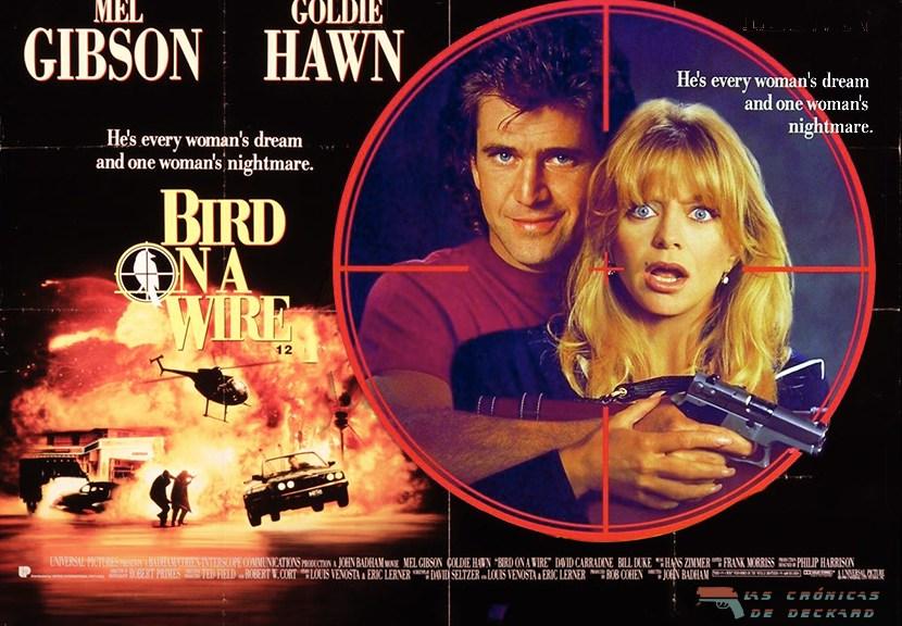 Dos pájaros a tiro, poster crítica las Crónicas de Deckard