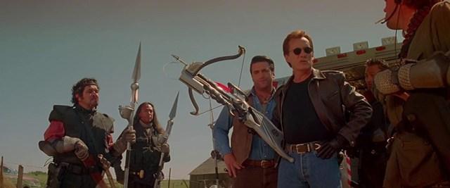 Vampiros. Jack Crow preparando a su equipo.