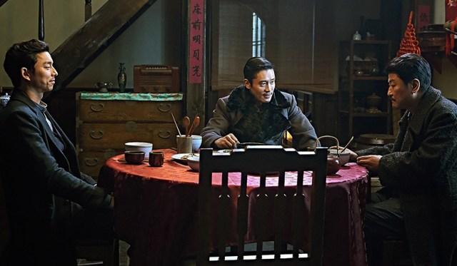 El imperio de las sombras. Gong Yoo, Lee Byung-hun, Song Kang-ho.