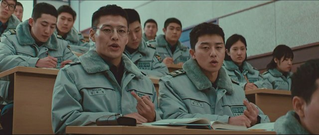 Kang Ha-neul and Park Seo-joon in Midnight Runners