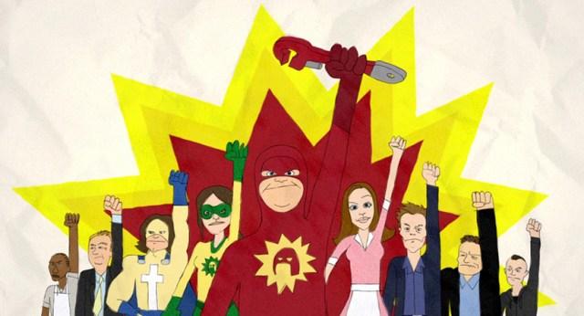 Intro of Super (James Gunn. 2010)