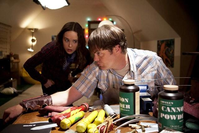 Libby (Ellen Page) y Frank (Rainn Wilson) se prepararán para el enfrentamiento final.