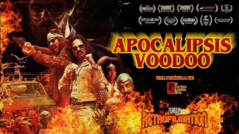Poster Apocalipsis Voodoo para La Crítica Las Crónicas de Deckard