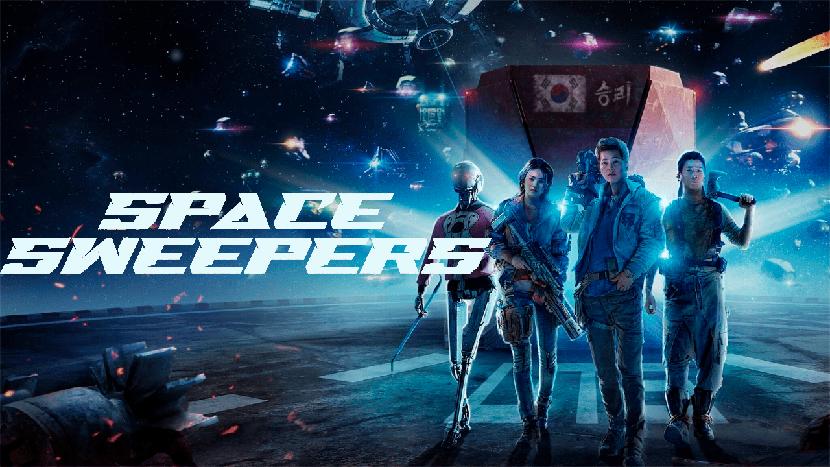 Barrenderos Espaciales (Space Sweepers) poster para la crítica de Las Crónicas de Deckard