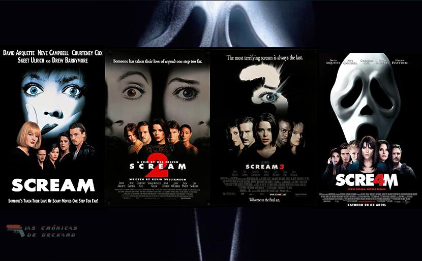 Poster Saga Scream Las Crónicas de Deckard