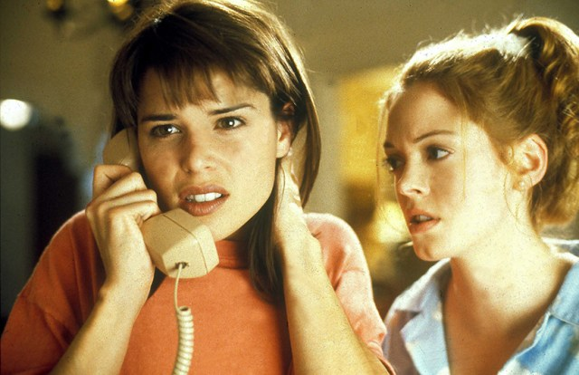 Neve Campbell and Rose McGowan