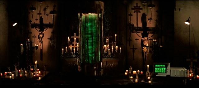 Líquido verde El Príncipe de las Tinieblas, de John Carpenter.