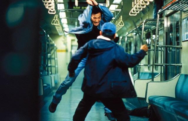 Sin Escape. Escena pelea en metro.