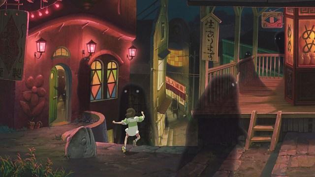 El viaje de Chihiro. El mundo mágico