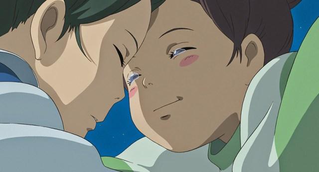 El viaje de Chihiro. Chihiro y Haku recuerdan como se conocieron.