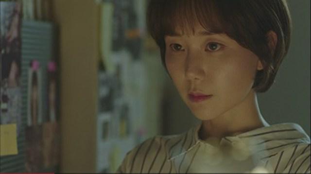 Lee Yoo-young en el Drama Coreano Tunnel.