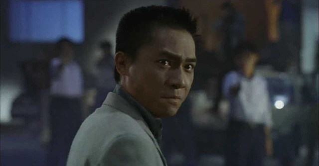 Tony Leung in Warehaouse Scene