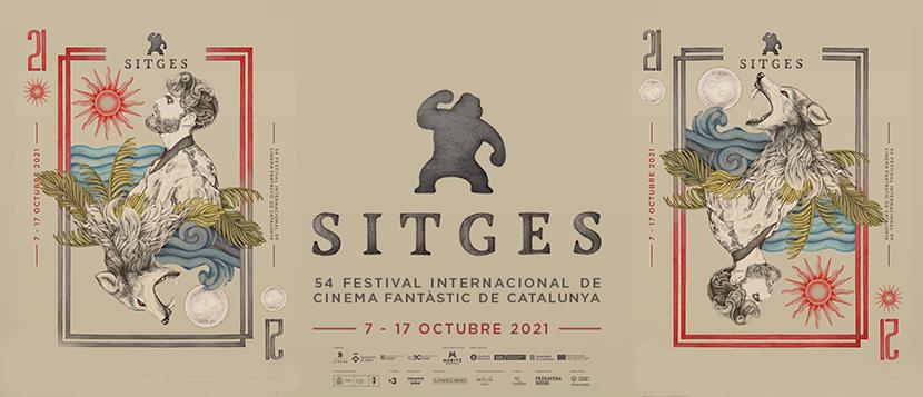 Poster Festival Sitges 2021 Entrada Cronicas de Deckard