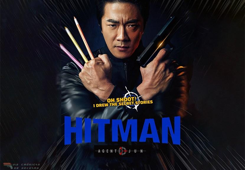Poster Hitman Agent Jun Crítica Las Crónicas de Deckard