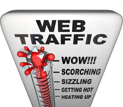 local website traffic