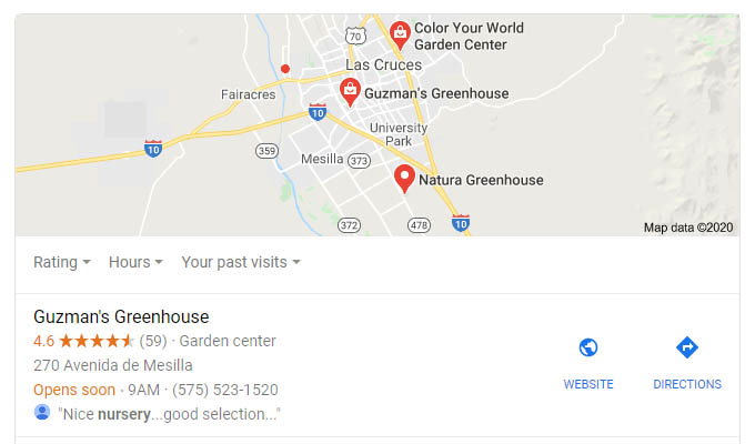 Get your business listed on google free