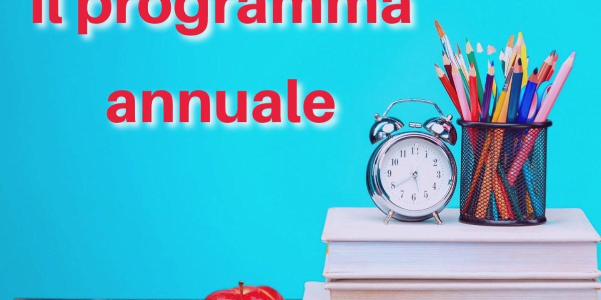 Il programma dell'anno