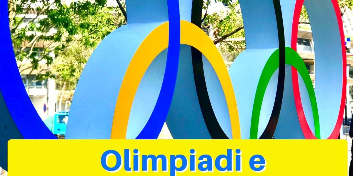 Olimpiadi e bandiere