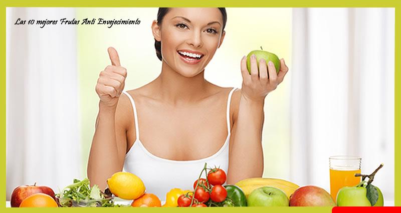 Las 10 mejores Frutas Anti Envejecimiento