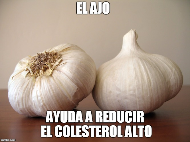 10 Super Alimento Para Bajar el Colesterol el ajo