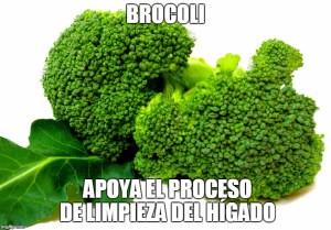 10 Super Alimentos Para La Limpieza Del Hígado Brocoli