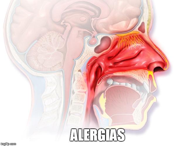 combate la alergia