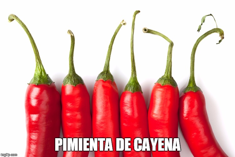 la pimienta de cayena