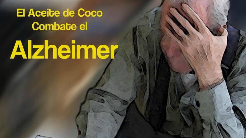 el aceite de coco combate el alzheimer