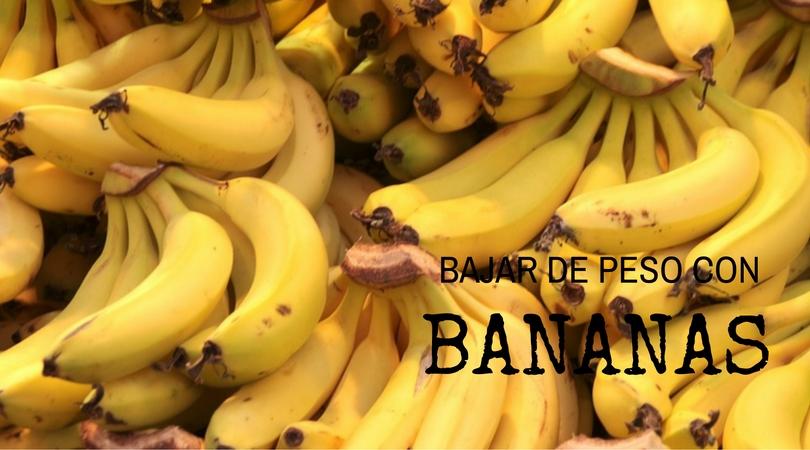 Bajar de Peso Con Bananas