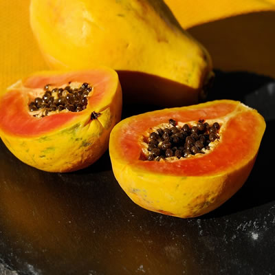 las semillas de papaya