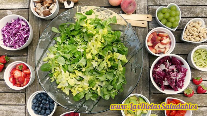 Una dieta de alimentos crudos para el envejecimiento