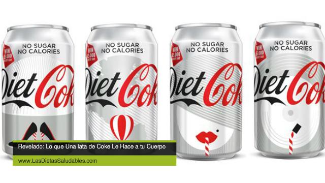 Revelado: ¿Como Una Lata De Diet Coke Hace Que Tu Cuerpo Guarde Grasa y Ataca Tus Dientes?