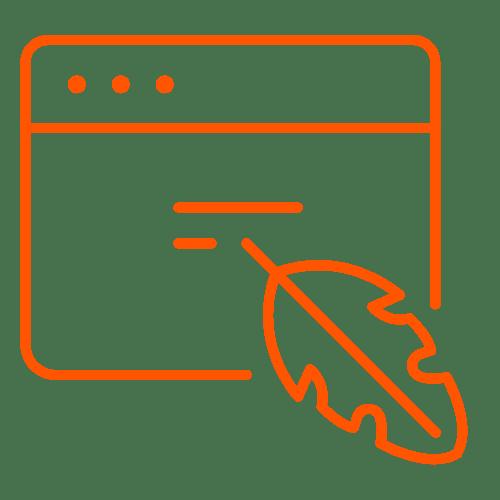 copywriting content services icon