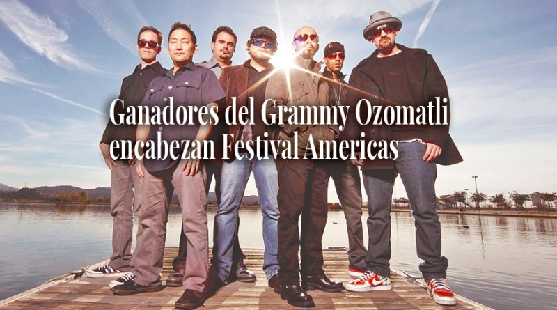 Grammy winners Ozomatli headline Festival Americas