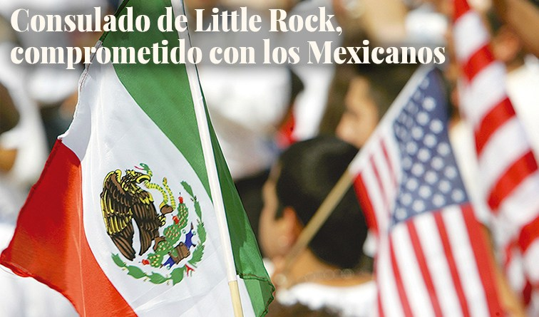 The Little Rock Consulate, increasingly committed to Mexicans