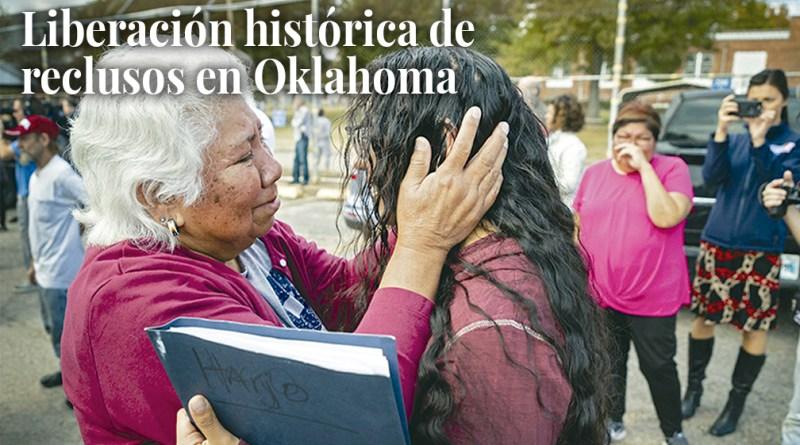 Oklahoma's historic inmate release