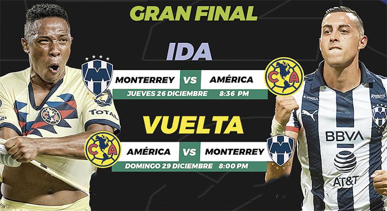 América y Rayados disputarán la Final Navideña por el título del Apertura 2019