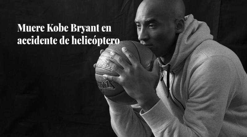 Kobe Bryant dies in a helicopter accident
