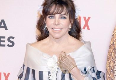 Verónica Castro, dispuesta a retomar su carrera