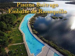 Piscina natural de Buitrago, junto a la presa