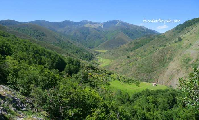 Cabeceras del gran valle de Casasuertes