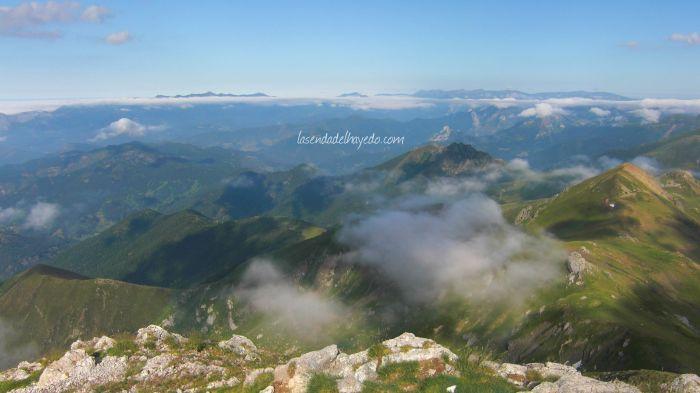 Hacia Cantabria