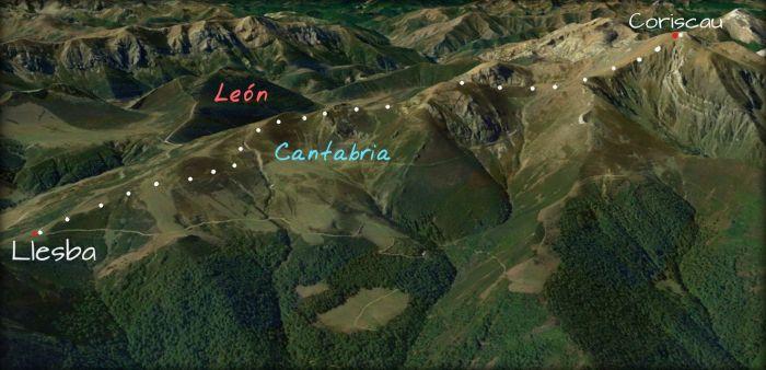 mapa coriscao