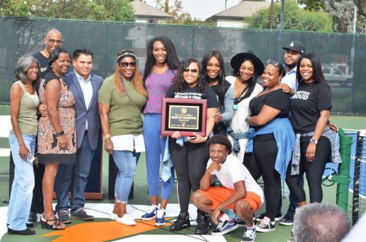 Serena and Venus Williams Return to Compton - Los Angeles ...